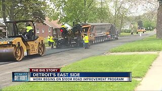 Detroit to invest $100 million to improve 100 miles of roads