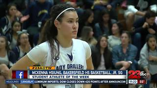 Female Athlete of the Week: McKenna Hsiung - Video