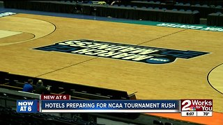 Hotels preparing for NCAA tournament rush