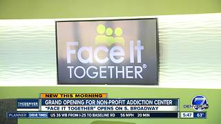 Grand opening for non-profit addiction center - Video