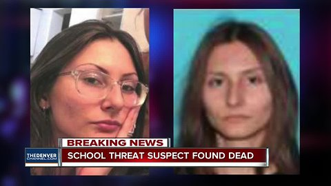 Sol Pais found dead: Manhunt for Columbine-obsessed woman who threatened Denver schools is over