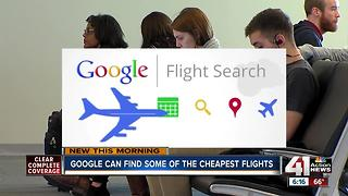 Google can find some of the cheapest flights - Video
