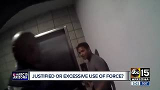Body camera video shows Mesa officers punching suspect during arrest