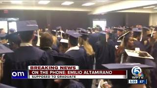 FAU graduation ceremony canceled over 'credible threat' - Video