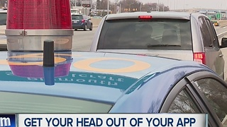 New distracted driving campaign by MSP - Video