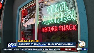 Businesses to reopen via curbside pickup Friday