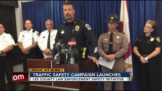 Traffic Safety Capaign Launches - Video