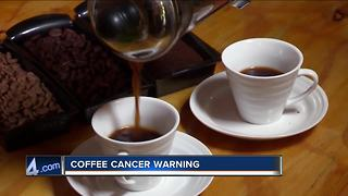 California coffee could soon include cancer warning - Video