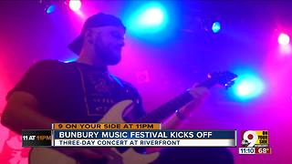 Bunbury Music Festival kicks off - Video