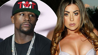 Floyd Mayweather's New Girlfriend is Fine as Hell, AND She Can Read! - Video