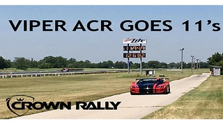 Viper ACR Goes 11's - Crown Rally 2017 - Video