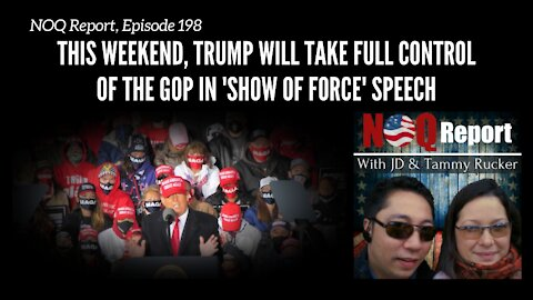 This weekend, Trump will take full control of the GOP in 'show of force' speech