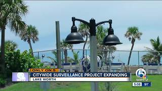 Citywide surveillance project expands in Lake Worth - Video