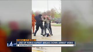 Use of force expert weighs in Mayfair Mall viral arrest videos