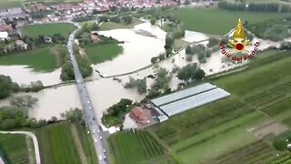 Severe Rainfall Prompts Red Alert in Northern Italy