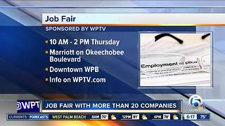 Job fair Thursday at West Palm Beach Marriott - Video