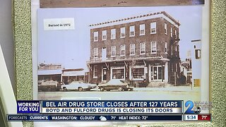 Bel Air drug store closes after 127 years