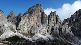 Stunning drone footage of The Dolomites in Italy - Video