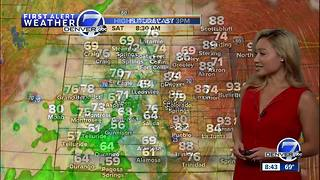 Rain and cooler weather coming to Colorado this weekend