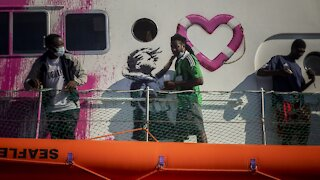 Italian Coast Guard Rescues 49 From Artist Banksy's Migrant Boat