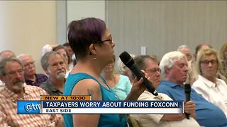 MKE residents raise concerns about Foxconn deal - Video