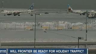 Frontier: Nearly all flights operating Thursday - Video