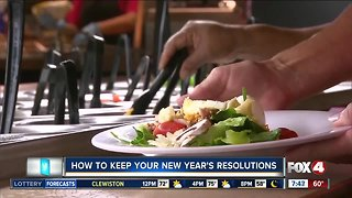 Tips to keeping up with your new year's resolutions