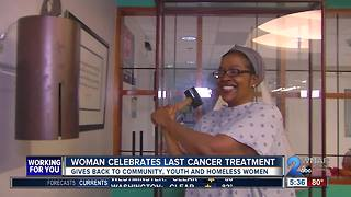 Local woman celebrates beating cancer - Video