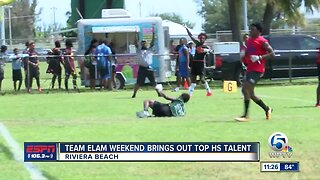 Team Elam Charity Weekend 7 on 7 tournament
