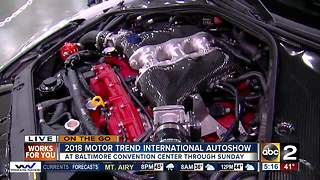 On the Go International Motor Trend Car show - Video