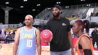 Andre Drummond helps with Special Olympics Unified game at All-Star Weekend - Video