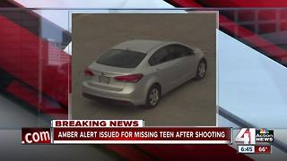 Amber Alert issued after 15-year-old goes missing after shooting - Video