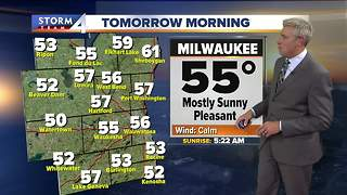 Sunny skies and 70s Wednesday - Video