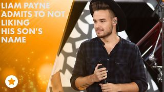 Even Liam didn't love his son's name Bear at first - Video