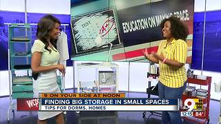 Finding Big Space in Small Spaces on 9 On Your Side at Noon - Video