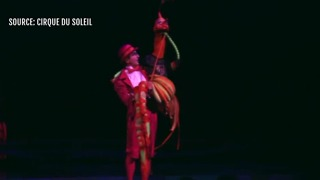 Cirque du Soleil celebrates Golden Knights - Video