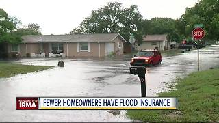 Most Florida flood zone property not insured - Video