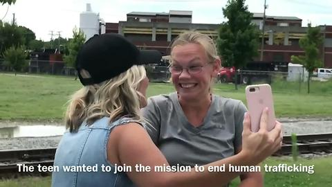Teen Surprised By Christian Music Artist After 300 Mile Walk