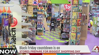 Kansas City toy store ramps up for Black Friday - Video