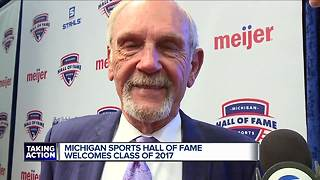 Jim Leyland inducted into Michigan Sports Hall of Fame - Video