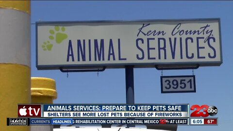 Animals Services: Prepared to keep pets safe