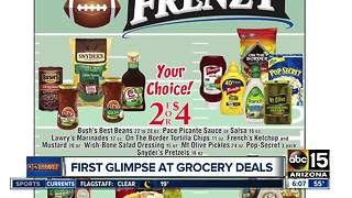 Before you head out, check out these grocery deals - Video
