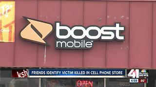 People grieve Boost Mobile worker gunned down - Video