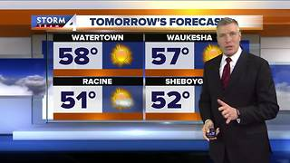 Sunny Wednesday, possible sprinkles Thursday - Video