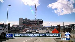 Proposal would require Denver developers to add affordable housing as they build to the sky - Video