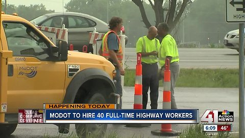Looking for a job? MoDOT hosts job fair Thursday to hire maintenance workers