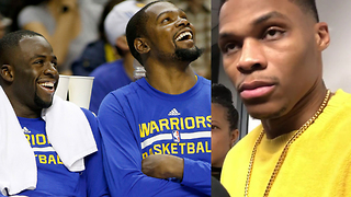 Kevin Durant DISSES Draymond Green, Tries to Win Russell Westbrook's Friendship Back - Video