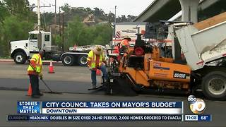 San Diego City council takes on mayor's budget