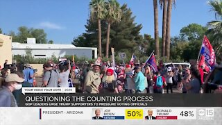 GOP members question Arizona's counting process