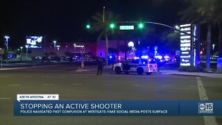 Active shooter situation led to misinformation on scene, online